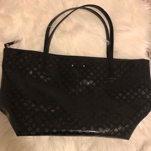 Kate Spade Patent Leather Zip Tote